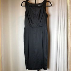Adrianna Papell Black Sarin Cocktail Dress Size 6